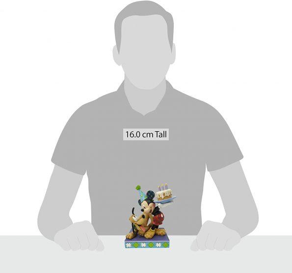 Happy Birthday Pal (Pluto and Mickey Birthday Figurine) 5