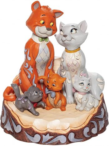 Disney Traditions Pride and Joy (Carved by Heart Aristocats Figurine)